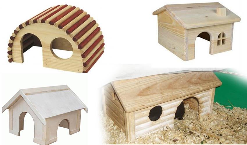 Как сделать домик для морской свинки руками 613